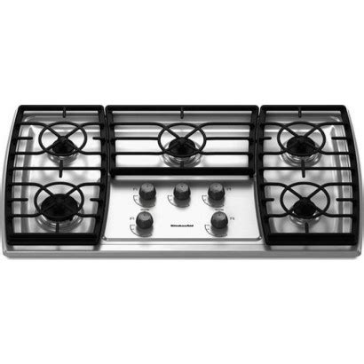 kitchenaid gas cooktop grates iron cast electronic ignition kitchen sealed burners discontinued cooking appliances cooktops catalog