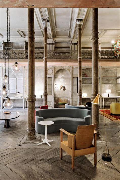 canap loft intérieurs avec un canapé arrondi un meuble pratique et