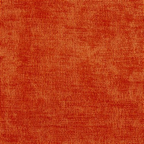 Upholstery Fabric Orange by Solid Orange Or Persimmon Velvet Upholstery Fabric