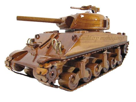 wooden m4 us m4 m4a1 m4a2 sherman allied wwii medium tank wood wooden