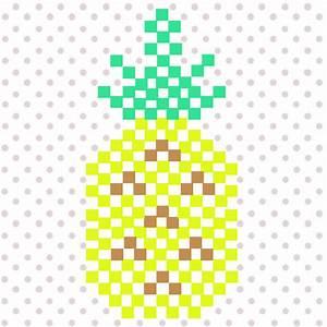 Bügelperlen Wie Bügeln : ananas aus hama mini b gelperlen perles co ~ Yasmunasinghe.com Haus und Dekorationen