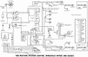 1968 Mustang Engine Wiring Diagram