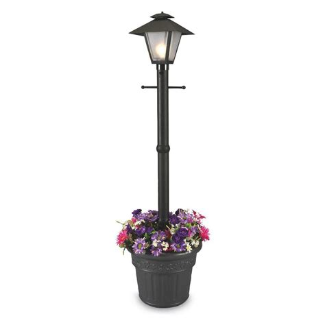 plug in yard lights patio living concepts cape cod plug in outdoor black post