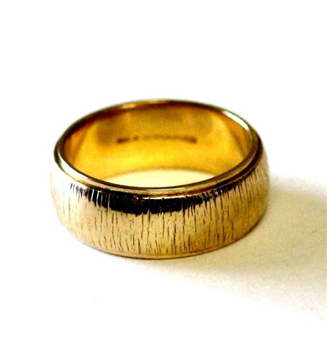 yellow gold mm wide womens wedding band ring