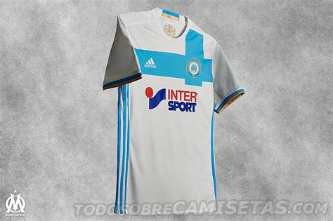 OFFICIAL: Olympique Marseille adidas 16 17 Kits
