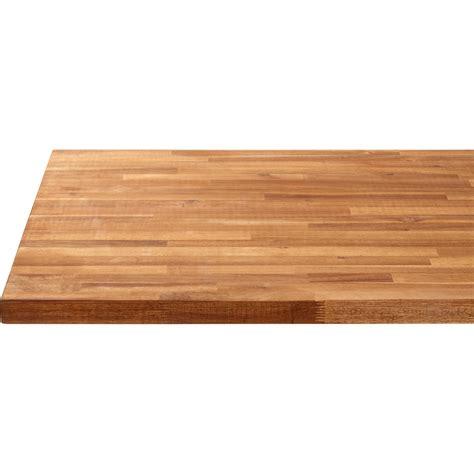 plan de travail bureau leroy merlin plan de travail bois acacia huilé mat l 250 x p 65 cm ep