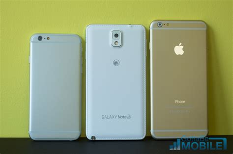 galaxy note 3 vs iphone 6 5 key details