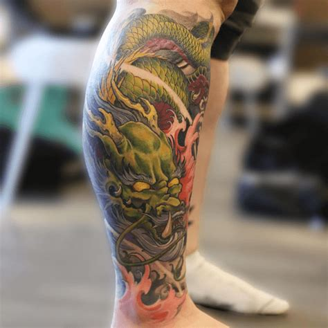 asian dragon tattoos chinese japanese tattoo meaning design