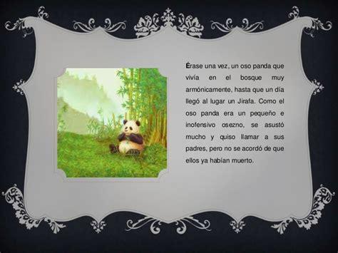 Cuento Oso Panda