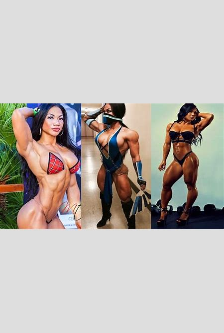 Asian Fitness Model - Workout Tina Nguyen - Sexy Figure - YouTube