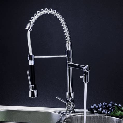 professional kitchen faucet  pull  spray