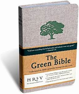 green canticle With green letter bible