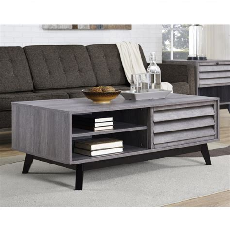 I know that i like to sit with my coffee tables with storage come in all different guises. Coffee Table Grey Oak Vaughn with Storage Space 5028196COM by Dorel