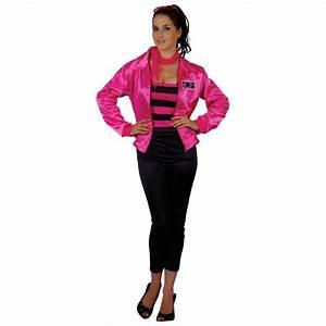 Grease Theme 1950s Pink T-Bird Cutie Ladies fancy Dress ...