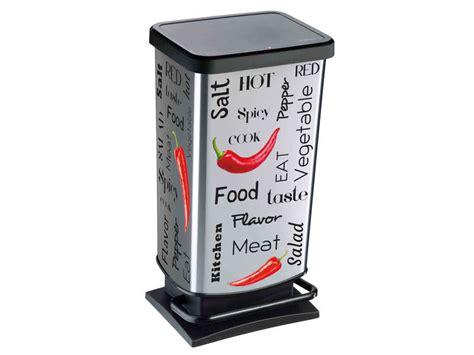 conforama poubelle cuisine poubelle de cuisine 40l spicy vente de poubelle de