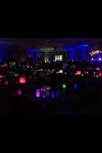 Neon Glow Sweet Sixteen Party on Pinterest