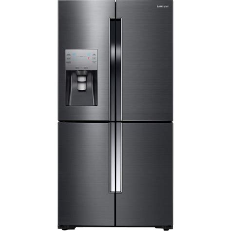 buy glass for windows samsung 22 5 cu ft door refrigerator in black