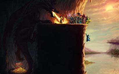 Wallpapers Paradox Magicka Dragon Interactive Bye Geek