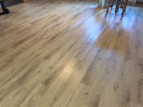 Home Expressions Luxury Vinyl Plank Flooring Installation