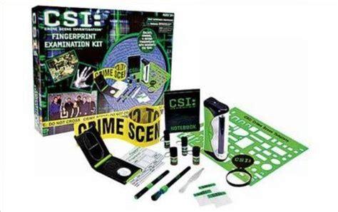 fun  asbestos  csi fingerprinting kit  kids