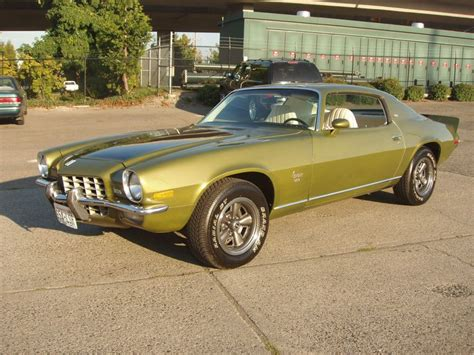 1973 Camaro Type Lt Green-gold