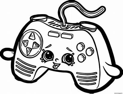 Controller Coloring Xbox Pages Printable Getcolorings Cont