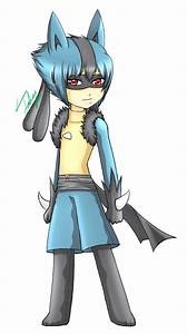 Pokemon Gijinka: Lucario M by WickedRin on DeviantArt