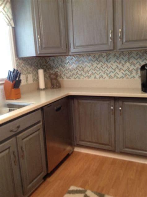 rustoleum cabinet transformations  glazed cottage blue