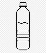 Water Bottle Coloring Plastic Pinclipart Transparent Clipart Clip sketch template