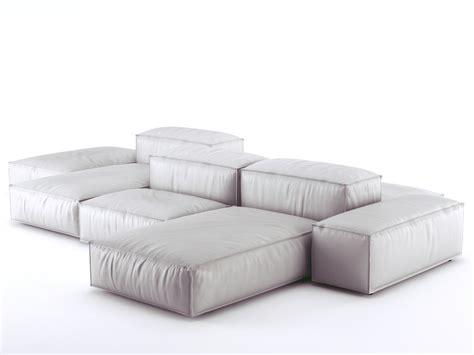 Divani Design 3d : Extrasoft Sofa System 3d Model