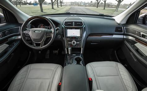 ford explorer interior comparison ford everest titanium 2017 vs ford