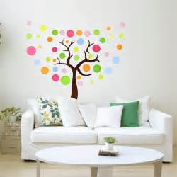colorful tree wall sticker home decorating photo 32572136 fanpop