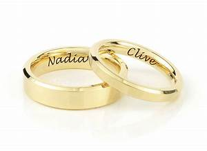 getting a ring with your name on it wedding ring essentials With wedding ring with names