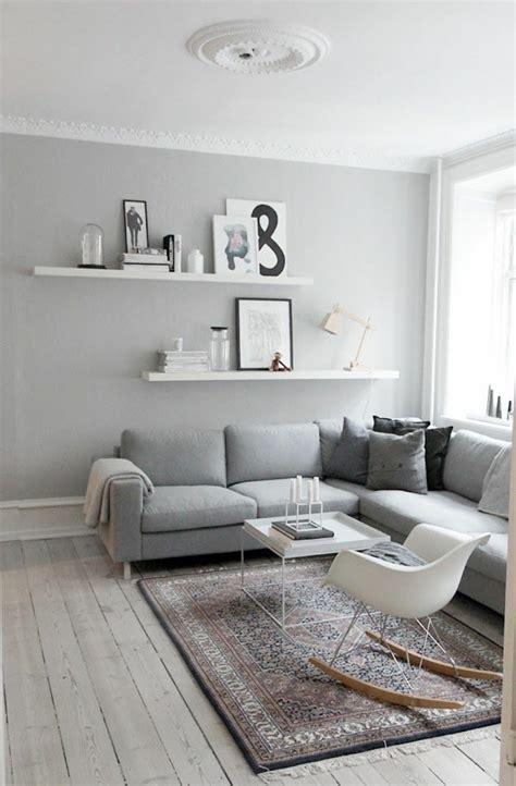 salon avec canapé gris deco salon avec canape gris et blanc