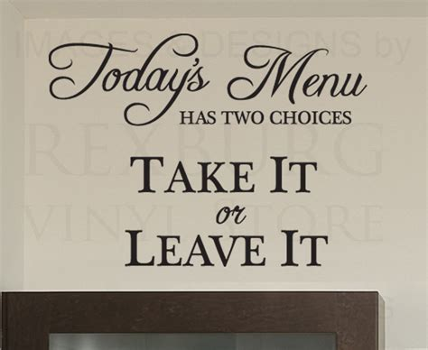 Kitchen Quotes Pictures by Kitchen Quotes Wall Decals Quotesgram