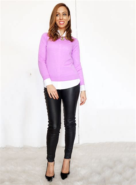 How to Wear Leather Leggings | 2016 Fashion Trends