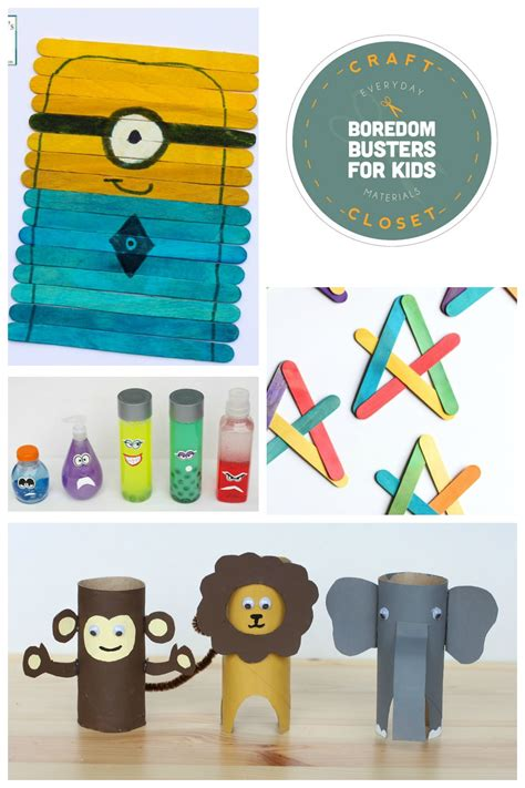 25+ Crafts And Activities For Kids Using Everyday Materials  Frugal Fun For Boys And Girls
