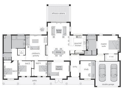 unique home designs australia floor plans  home plans