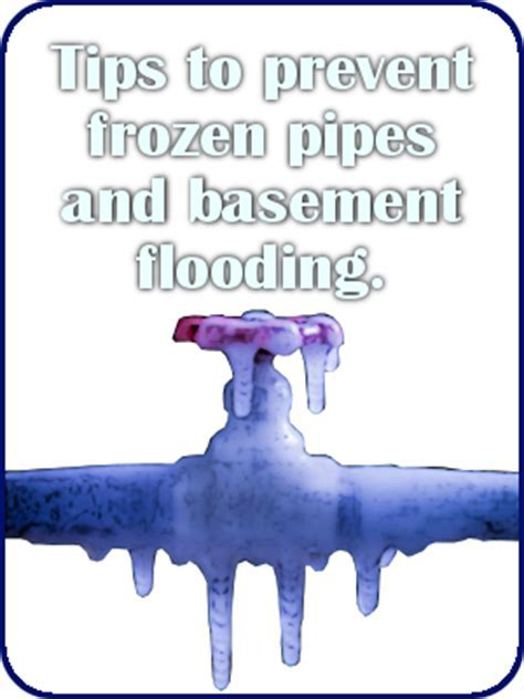 Prevent Freezing Water Pipes in the Winter