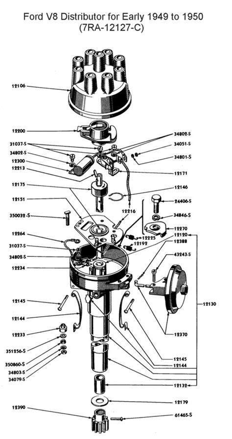 Ford F 150 Distributor Diagram by 83 Ford F150 4wd The Ignition Switch Module Distributor