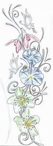 Butterflies Flowers TaT Design by 2Face-Tattoo on DeviantArt