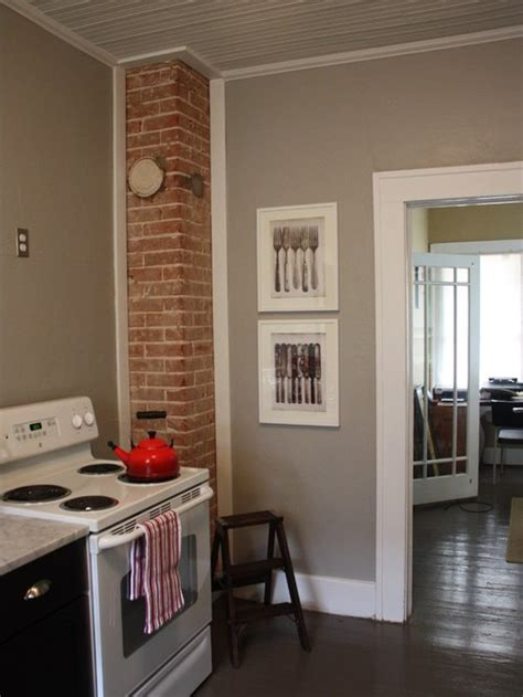 exposed brick chimney ideas pictures remodel  decor