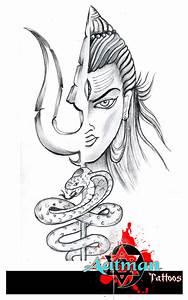 Lord Shiva Tattoo Design by Bhavith Narayan
