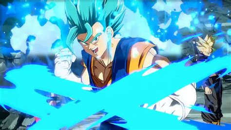 Dragon Ball Fighterz Vegito Blue (ssgss) Gameplay
