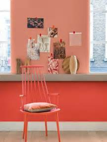 couleur saumon peinture murale photos de conception de maison agaroth