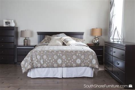 south shore vintage collection full queen size brown
