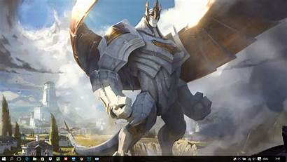 Engine Legends League Galio Animated Wallpapers Anime