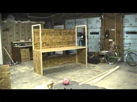 work bench build   hack  week shop youtube