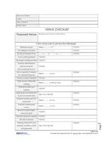wedding venue checklist venue checklist allyourforms