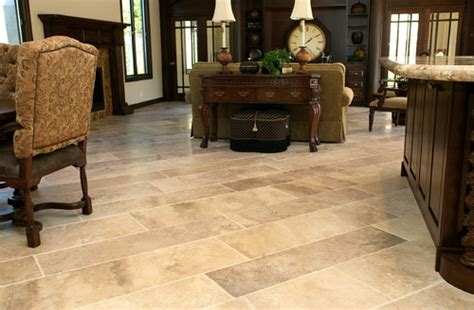 flooring for living room and kitchen the plank style travertine 8259